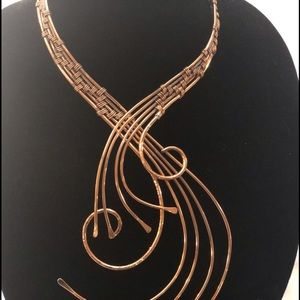 Copper Necklace- all handmade